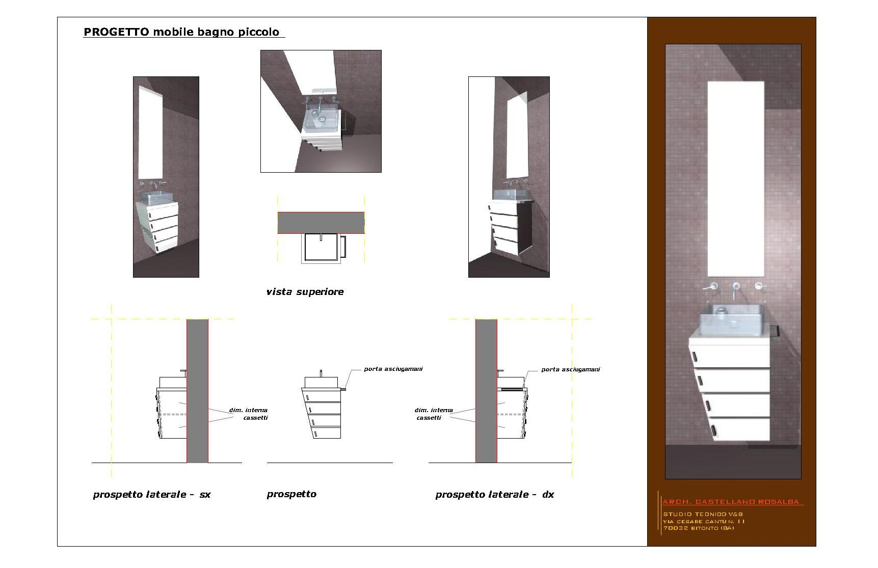 Studio tecnico vacca bonasia - Mobile bagno piccolo ...